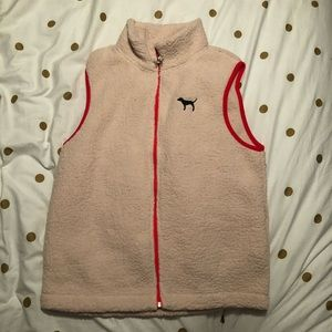 Victoria's Secret PINK Sherpa vest